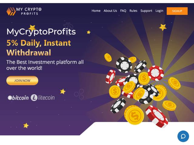 MYCRYPTOPROFITS - mycryptoprofits.io
