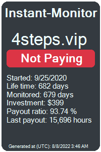 4steps.vip Monitored by Instant-Monitor.com