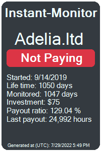 adelia.ltd Monitored by Instant-Monitor.com