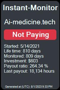 https://instant-monitor.com/Projects/Details/ai-medicine.tech
