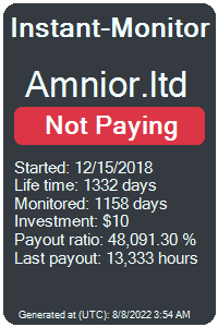 amnior.ltd Monitored by Instant-Monitor.com