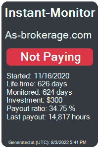as-brokerage.com Monitored by Instant-Monitor.com