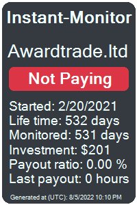 awardtrade.ltd Monitored by Instant-Monitor.com