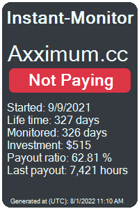 https://instant-monitor.com/Projects/Details/axximum.cc