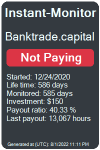 banktrade.capital Monitored by Instant-Monitor.com