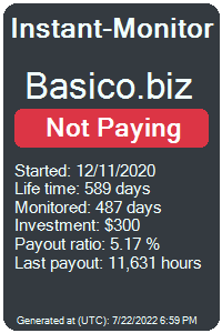 basico.biz Monitored by Instant-Monitor.com