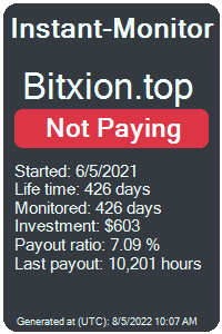 https://instant-monitor.com/Projects/Details/bitxion.top