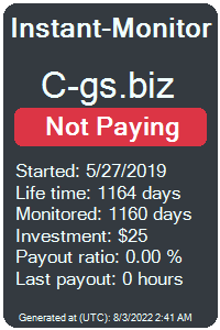 c-gs.biz Monitored by Instant-Monitor.com
