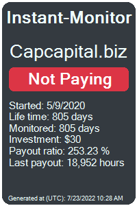 capcapital.biz Monitored by Instant-Monitor.com