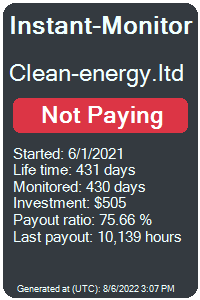 https://instant-monitor.com/Projects/Details/clean-energy.ltd
