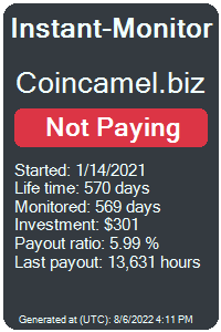 https://instant-monitor.com/Projects/Details/coincamel.biz