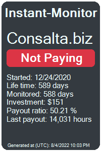 consalta.biz Monitored by Instant-Monitor.com