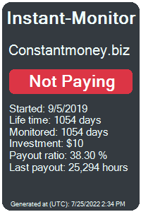 constantmoney.biz Monitored by Instant-Monitor.com