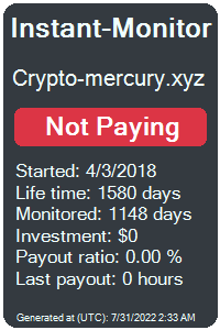 crypto-mercury.xyz Monitored by Instant-Monitor.com