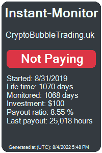 cryptobubbletrading.uk Monitored by Instant-Monitor.com