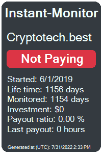 cryptotech.best Monitored by Instant-Monitor.com