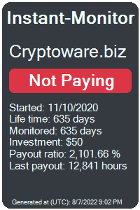https://instant-monitor.com/Projects/Details/cryptoware.biz