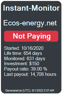ecos-energy.net Monitored by Instant-Monitor.com
