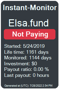elsa.fund Monitored by Instant-Monitor.com