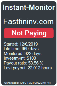 fastfininv.com Monitored by Instant-Monitor.com