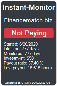financematch.biz Monitored by Instant-Monitor.com