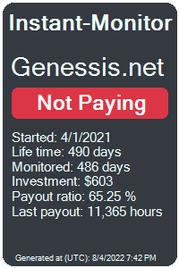https://instant-monitor.com/Projects/Details/genessis.net