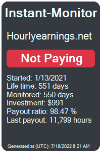 hourlyearnings.net Monitored by Instant-Monitor.com