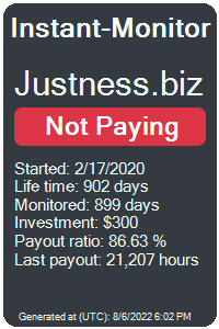 justness.biz Monitored by Instant-Monitor.com