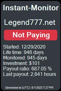 https://instant-monitor.com/Projects/Details/legend777.net