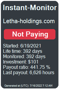https://instant-monitor.com/Projects/Details/letha-holdings.com