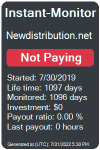 newdistribution.net Monitored by Instant-Monitor.com