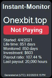 https://instant-monitor.com/Projects/Details/onexbit.top