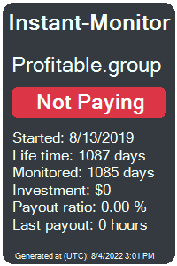 profitable.group Monitored by Instant-Monitor.com