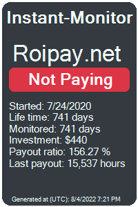 https://instant-monitor.com/Projects/Details/roipay.net