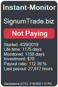 signumtrade.biz Monitored by Instant-Monitor.com