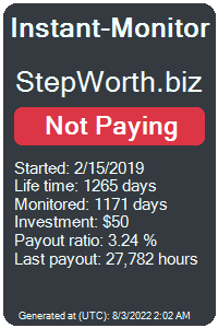 stepworth.biz Monitored by Instant-Monitor.com