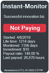 successful-innovation.biz Monitored by Instant-Monitor.com