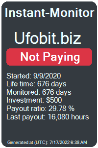 https://instant-monitor.com/Projects/Details/ufobit.biz