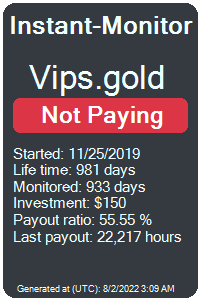 vips.gold Monitored by Instant-Monitor.com