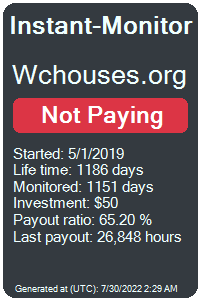 wchouses.org Monitored by Instant-Monitor.com