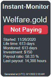 welfare.gold Monitored by Instant-Monitor.com